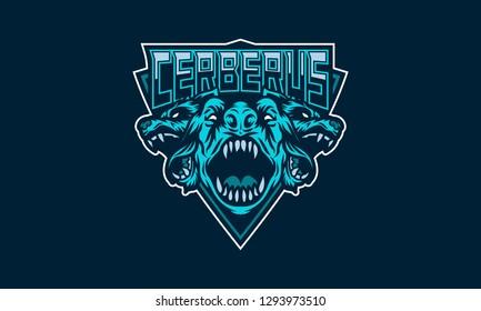 Cerberus Sport Team Logo Vector