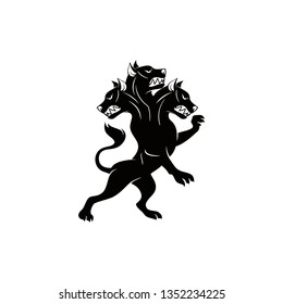 Cerberus Vector Logo Template