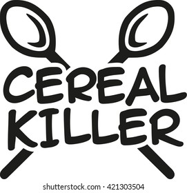 Cereal Killer with spoons