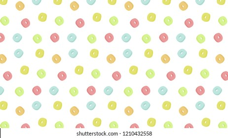 Cereals pattern vector. free space for text. wallpaper.