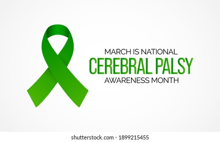 Cerebral palsy (CP) is a group of disorders that affect a person's ability to move and maintain balance and posture. CP is the most common motor disability in childhood. Vector illustration.