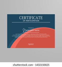 Certificate of Appreciation template vektor