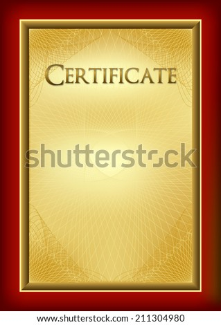 certificate diploma award background create base stock vector