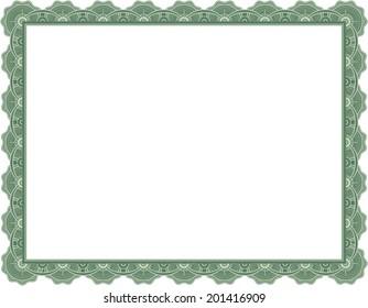 Certificate / Diploma / Graduation Frame Border