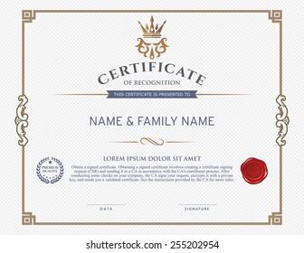 award certificate images stock photos vectors shutterstock