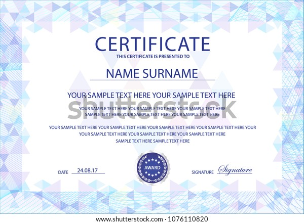 It is a photo of Printable Stock Certificate in word
