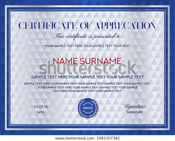 image regarding Certificate of Achievement Printable titled Certification Template Printable Editable Style and design Degree Inventory