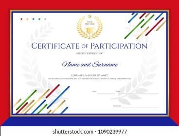 Sports Certificate Images Stock Photos Vectors Shutterstock