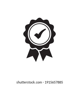 certified icon symbol sign vector