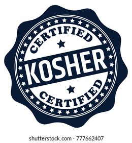 Certified Kosher Stamp