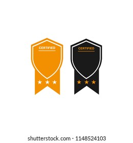 certifited logo template