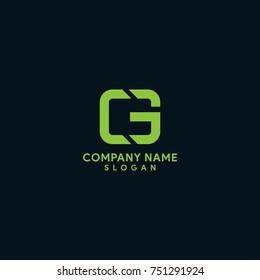 CG / CE / EC / GE initial logo mark