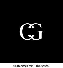 CG Letter Initial Logo Design Template Vector Illustration
