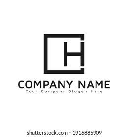 CH logo initial vector Letter Logo Design Monogram template letter CH  , Creative Modern Letter CH Logo , HC  logo