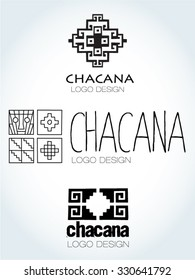 Chacana, Andean square cross, the most important symbol of Andean culture