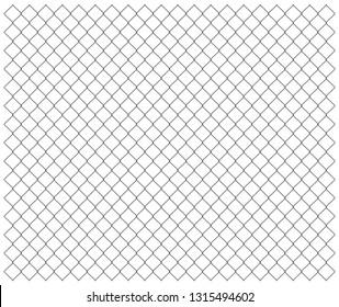Chain fense seamless. Vector illustration
