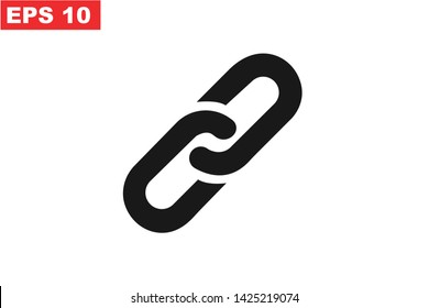 Chain Link icon simple element illustration can be used for mobile and web