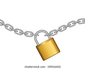 Chain with lock