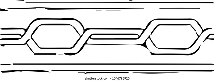 Chain pattern (vector)