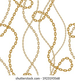 Chains pattern seamless. Design for fabric, wallpaper, wrapping, background.