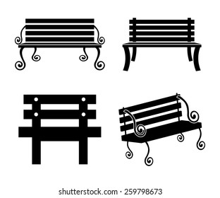 Chair design  over white background, vector illustration.