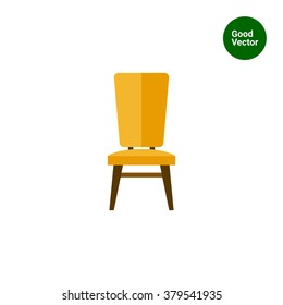 Chair flat icon