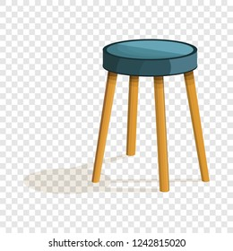 Chair stool icon. Cartoon of chair stool vector icon for web design