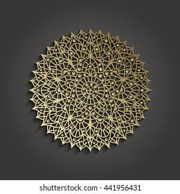 Chakra Sahasrara pictogram. Yoga symbol. Vector illustration.