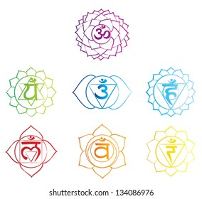 Chakra Symbol, vector