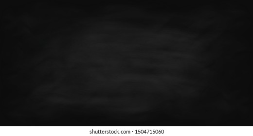 Chalkboard background, black dirty chalkboard texture – stock vector