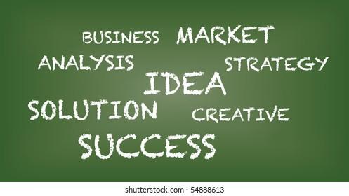 Chalkboard - business