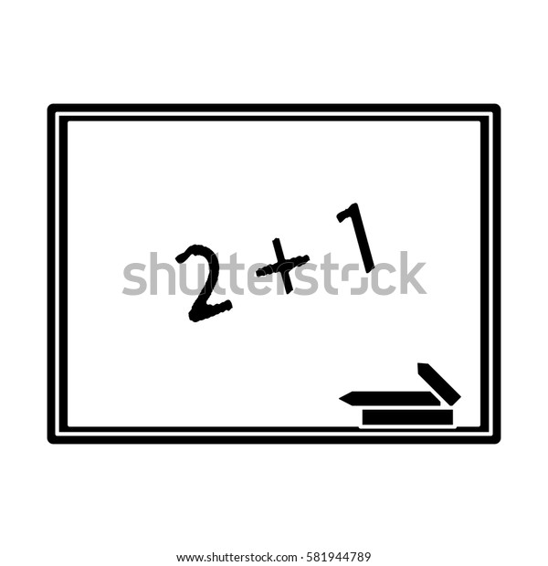 chalkboard class school chalk pictogram