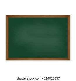 Chalkboard illustration.Vector
