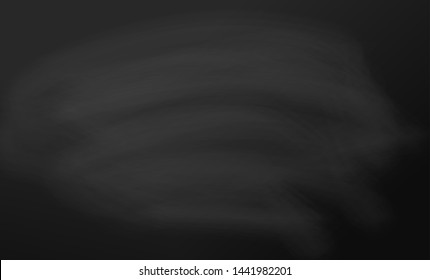 Chalkboard vector. Black background board template for school lessons. Blank blackboard, surface for teacher notice. Black paper texture. Vector illustration.