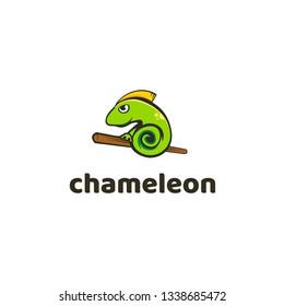 Chameleon Logo Icon Design