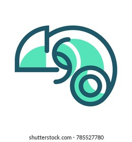 Chameleon Symbol, can be use for Company Logo