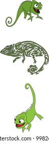 chameleons and tribal chameleon