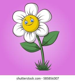 Cartoon Daisy Hd Stock Images Shutterstock