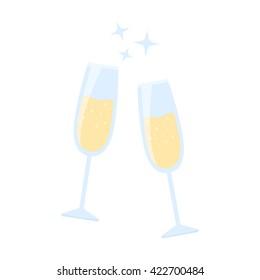 Champagne icon.