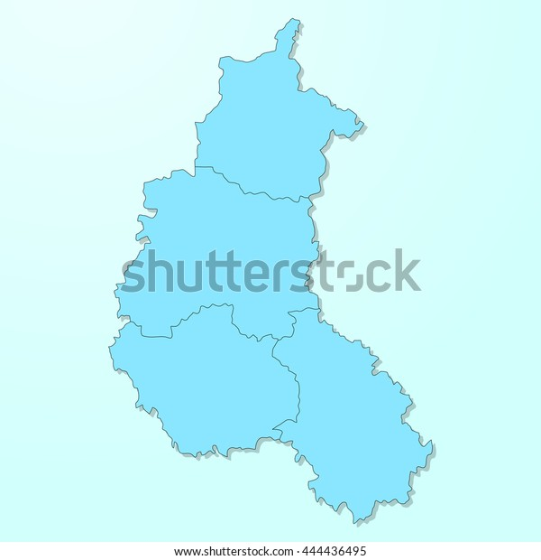 Champagneardenne Blue Map On Degraded Background Stock Vector ... on