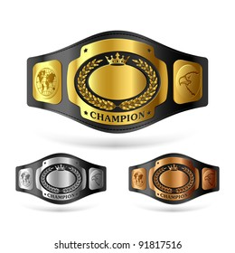 picture about Printable Wrestling Belt Template titled Winner Belt Shots, Inventory Visuals Vectors Shutterstock