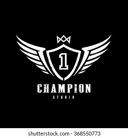 Champion logo images stock photos vectors shutterstock champion logo template altavistaventures Image collections