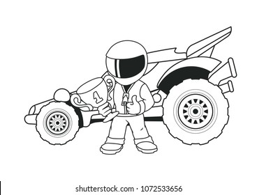 500 dragster pictures royalty free images stock photos and vectors Lamborghini Timeline ch ion racer with a golden cup and his racing car coloring book line art