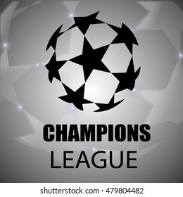 Champion sports league logo, emblem, badge.