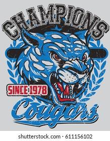 Champions cougars
