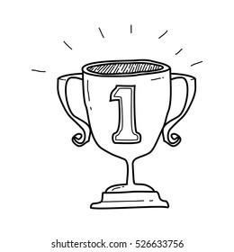 champions trophy doodle