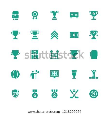 championship icon set Collection