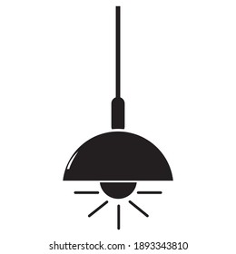 chandelier icon vector illustration sign