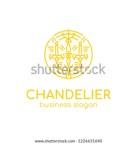 chandelier logo linear style chandelier luxury stock vector royalty rh shutterstock com hotel furniture for sale french style hotel furniture for sale