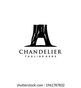 Chandelier tree tunnel on redwood national park logo design inspiration